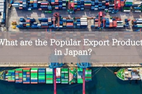 What are the Popular Export Products in Japan?