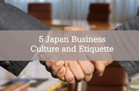 5 Japan Business Culture and Etiquette