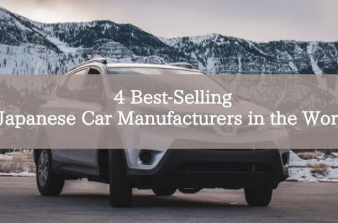 4 Best-Selling Japanese Car Manufacturers in the World