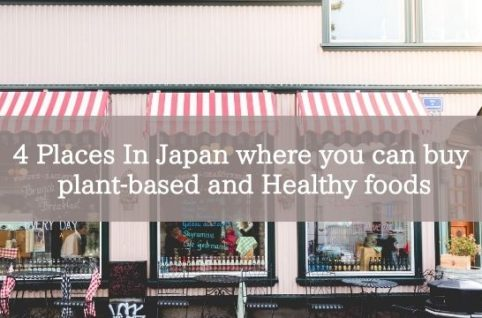 4 Places In Japan where you can buy plant-based and Healthy foods