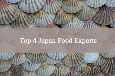 Top 4 Japan Food Exports