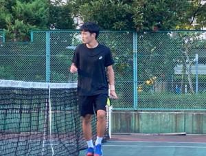 テニスプレイヤー神田伶選手